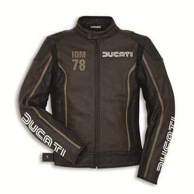 Blouson cuir Ducati IOM C1 Dainese