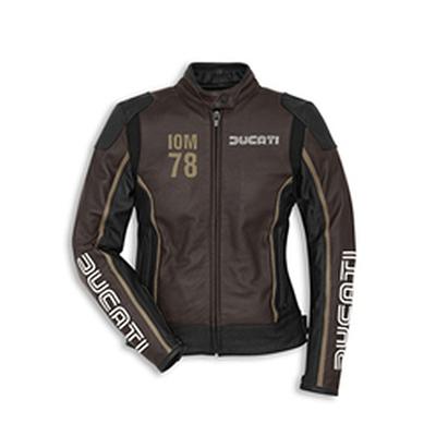Blouson cuir Ducati IOM C1 Dainese Femme