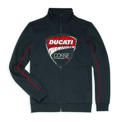 Sweat-shirt zippé Ducati Corse Sketch