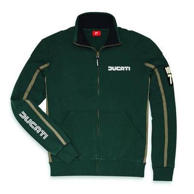 Sweat-shirt zippé IOM Vert
