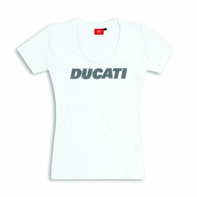 T-shirt Ducati Carbon pour Femme