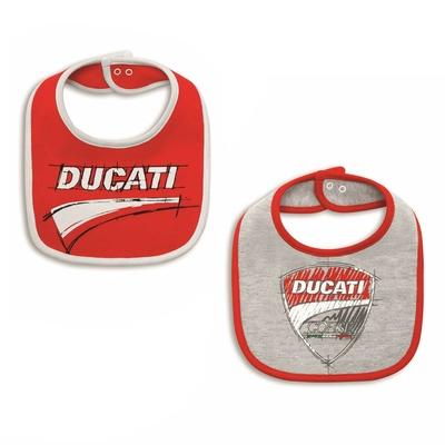 Bavoirs Ducati Sketch (par 2)