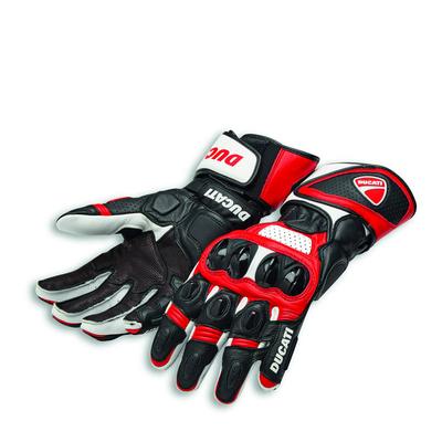 Gants Ducati Speed Evo C1 Rouge/Blanc/Noir