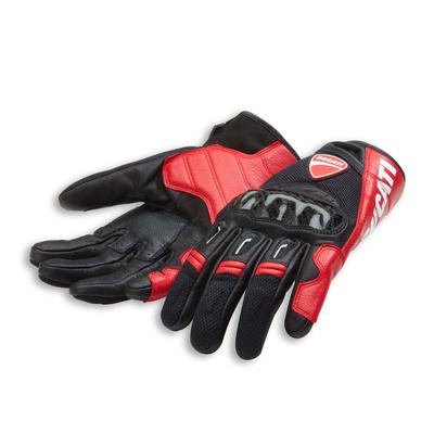 Gants Ducati Company C1 Noir/rouge