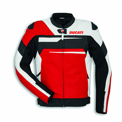 Blouson Ducati Speed Evo C1 Rouge/Blanc