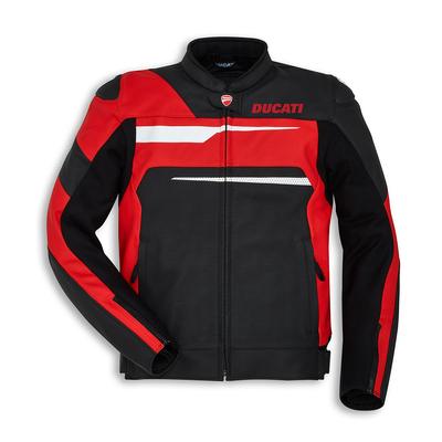 Blouson Ducati Speed Evo C1 Noir/Rouge