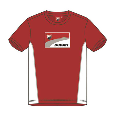 T-shirt Ducati Contrast Sides