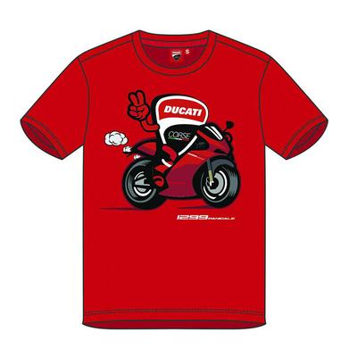 T-shirt Ducati Bike Mascotte pour Enfant