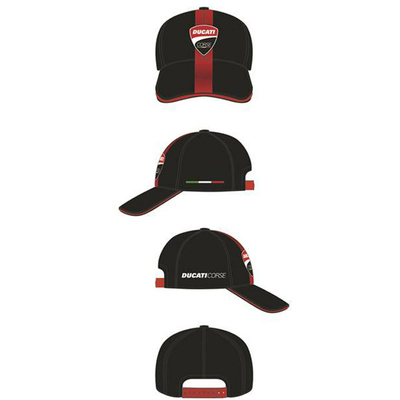 Casquette Ducati Carbon Front Patch