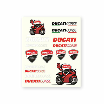 Stickers Ducati Corse Medium 2