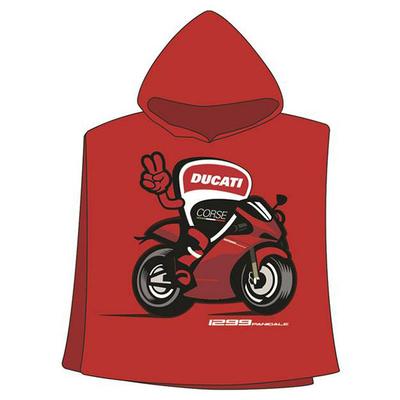 Poncho serviette bébé Ducati Corse