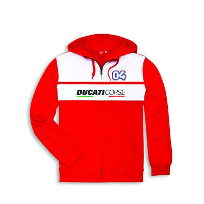 Sweat à capuche Ducati D04 Dovizioso SS18