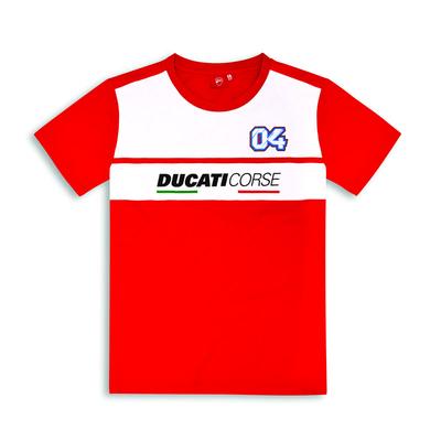 T-shirt Ducati Corse D04 Dovizioso SS18