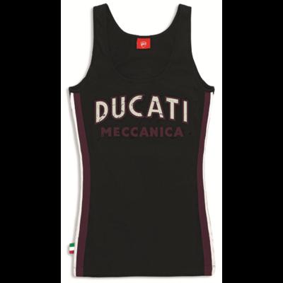 Débardeur Ducati Meccanica Femme Noir