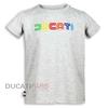 t-shirt-ducati-enfant-80s-gris-9876909-Bf
