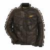 Veste Scrambler en cuir Quattrotasche 9810312