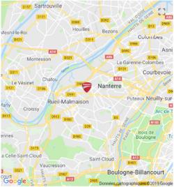 Plan Ducati Nanterre