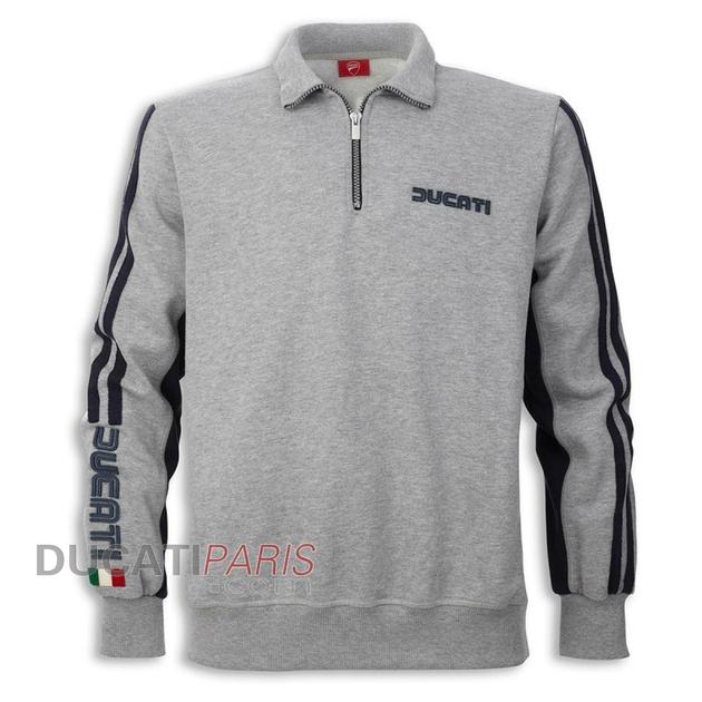 sweat-demi-zip-ducati-80s-gris-98768541-CF