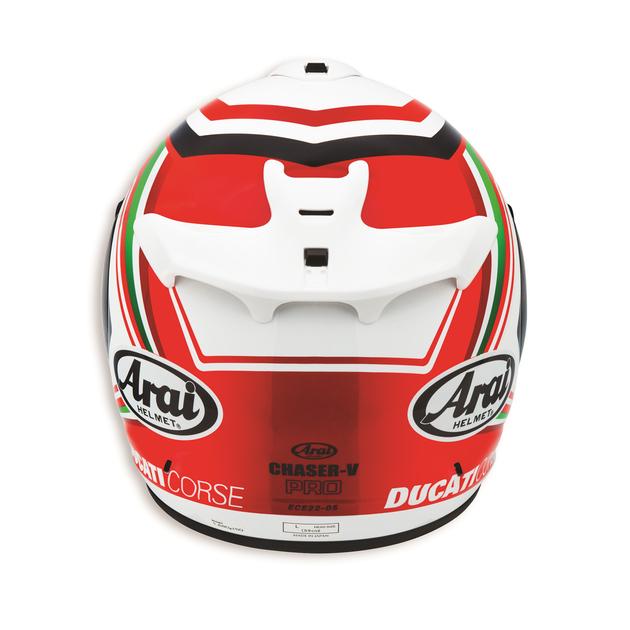 Arrière du casque Ducati SBK 2 Pro