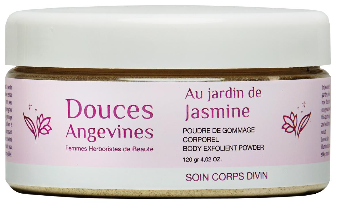Doux Good - Douces Angevines - Jasmine, poudre précieuse de gommage corps a melanger soi meme avec une creme