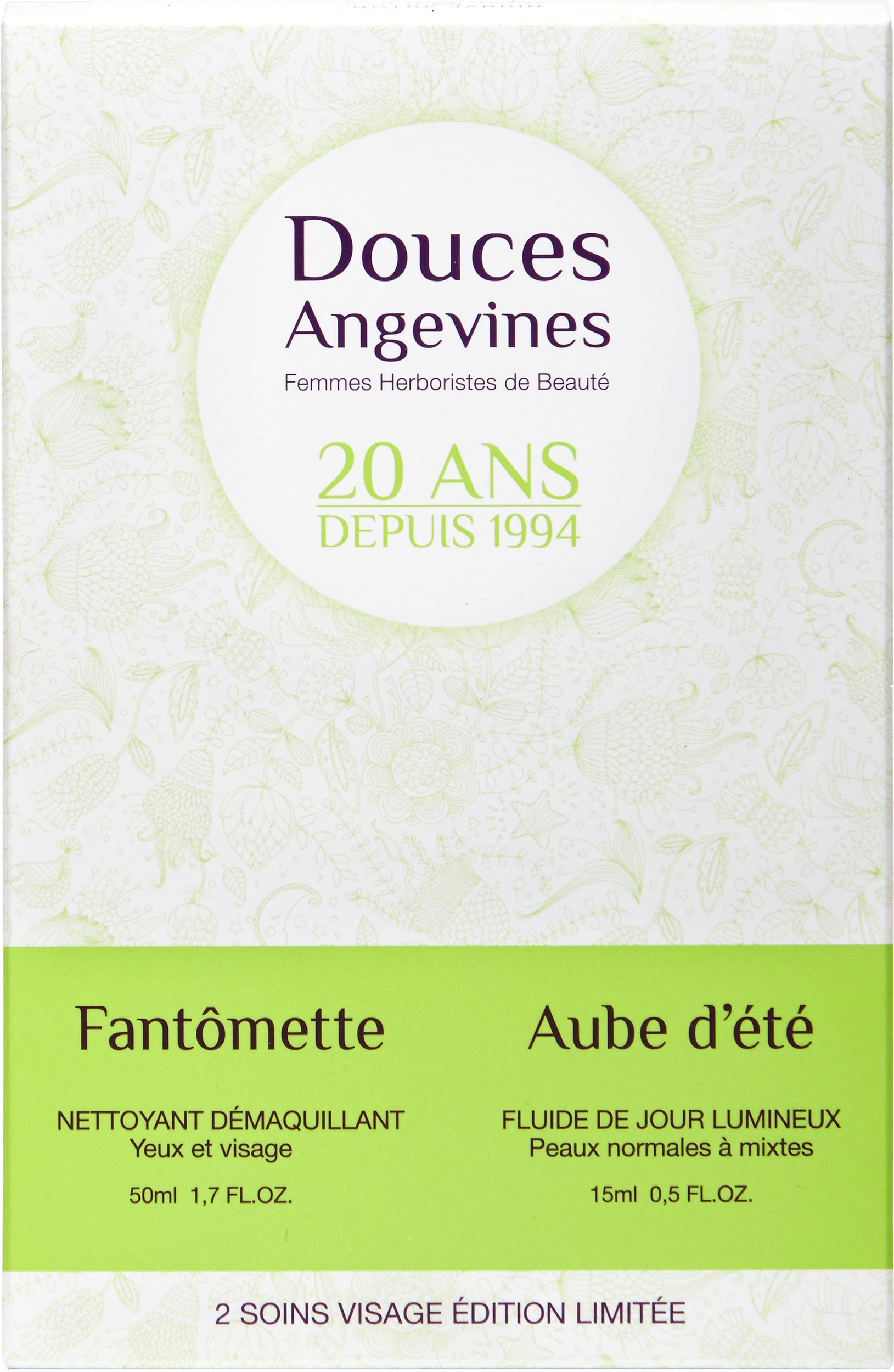 Doux Good - Douces Angevines - Offre anniversaire 20 ans, duo huile démaquillante et fluide de jour