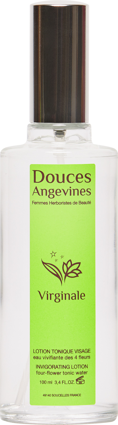 Doux Good - Douces Angevines - Virginale, eau tonique vivifiante visage