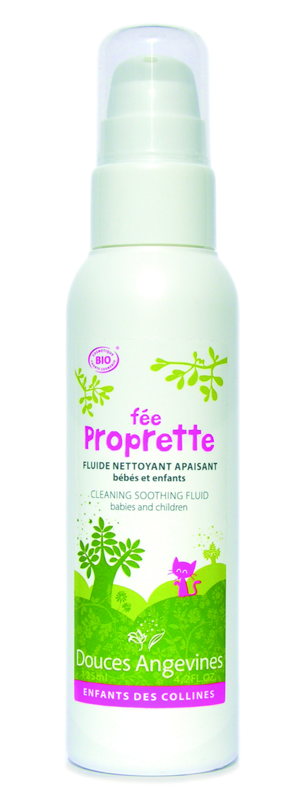Doux Good - Douces angevines - Proprette pour nettoyer le visage de bebe