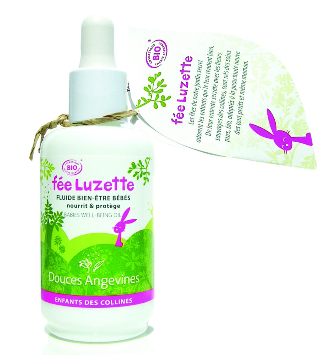 Doux Good - Douces angevines - Luzette pour les massages bio de bebe