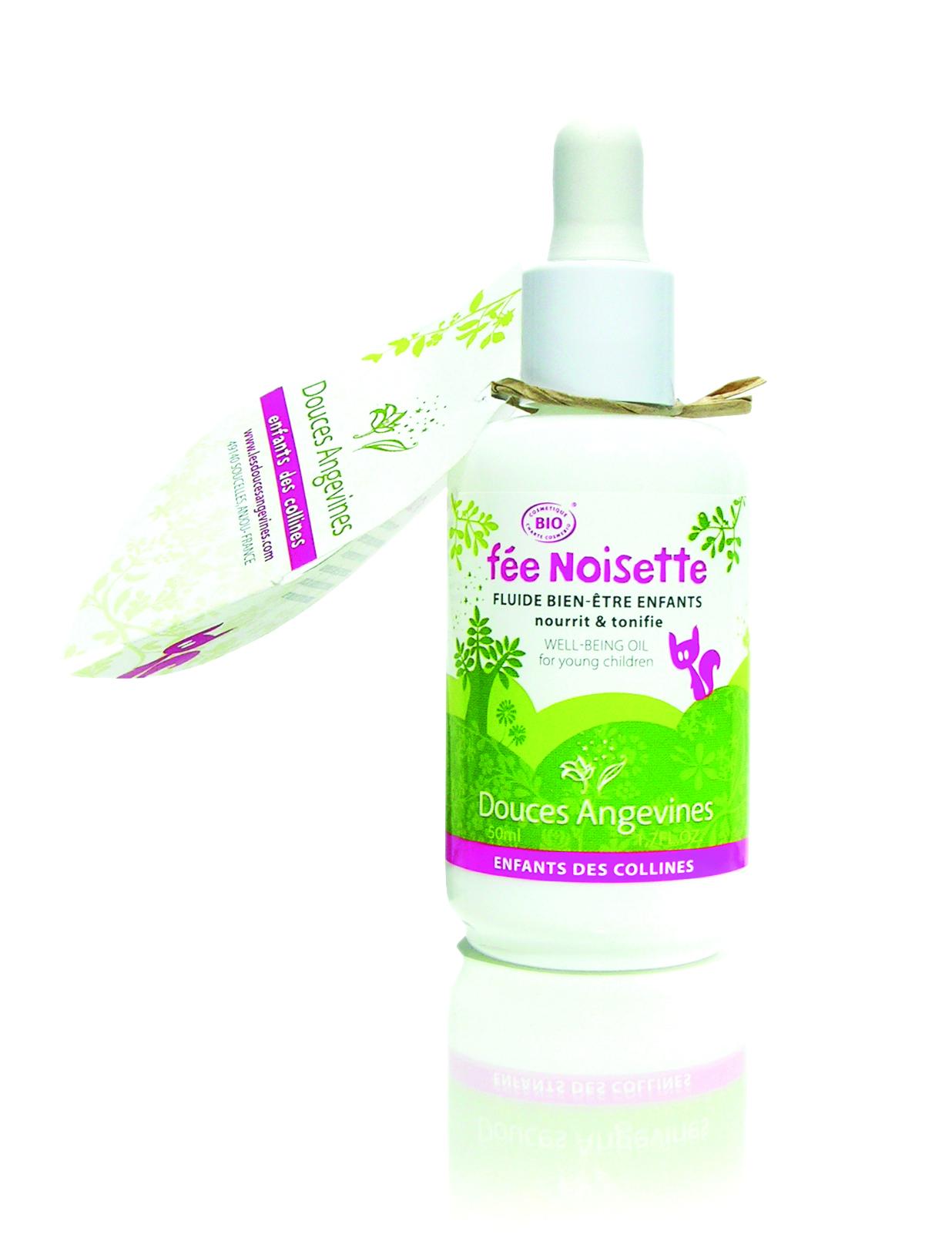 Doux Good - Douces angevines - Noisette, fluide hydratant bebe