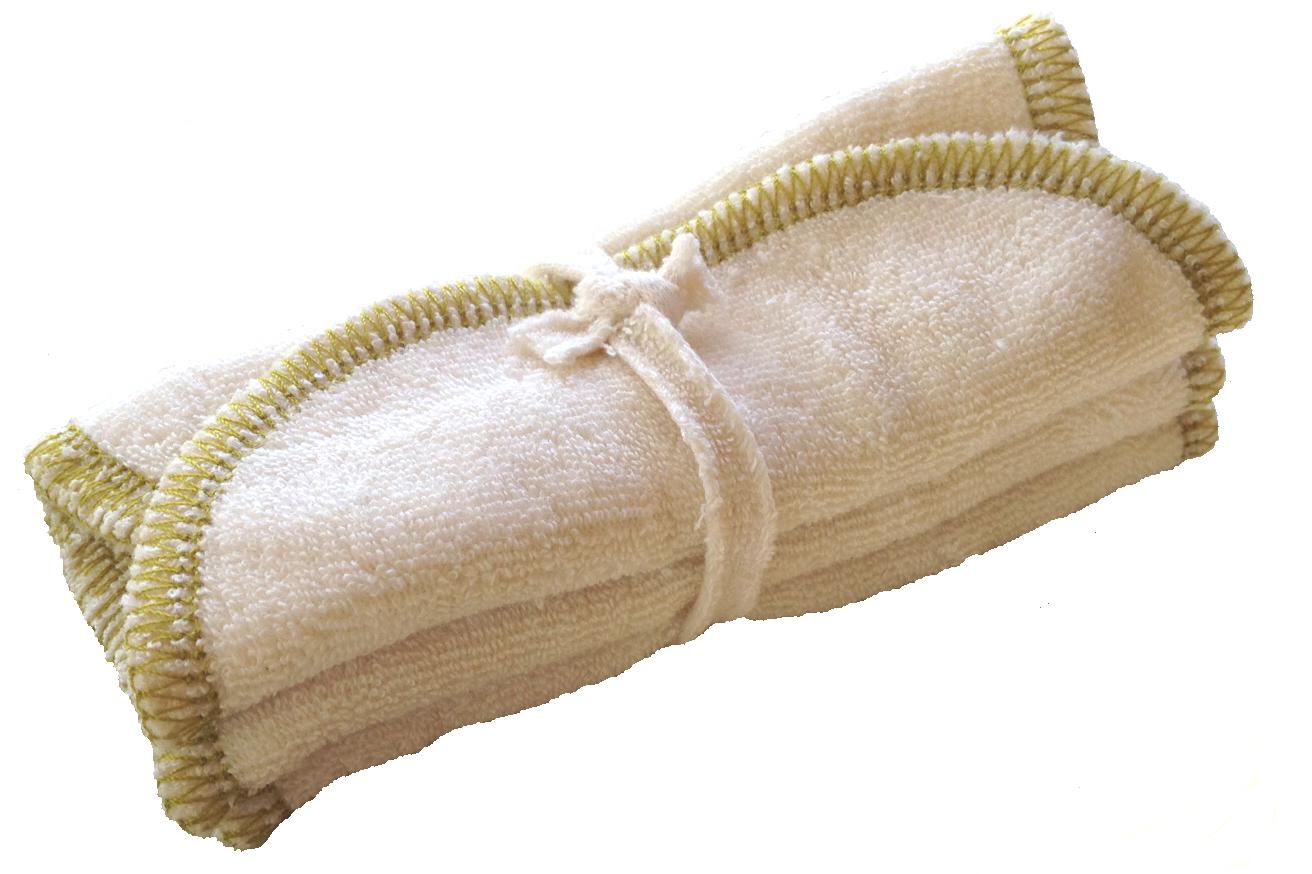 Doux Good - Douces angevines - Lingettes en coton bio remplaçant les cotons jetables. Passe en machine