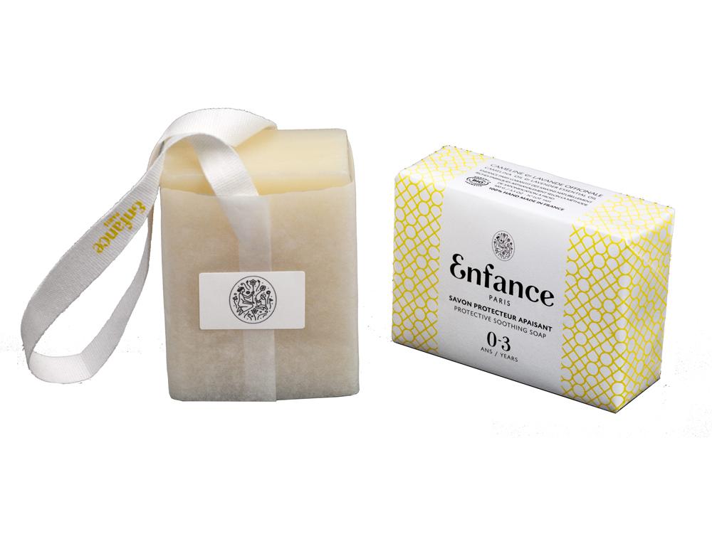 Doux Good - Enfance Paris - Savon protecteur apaisant 0-3 ans papier