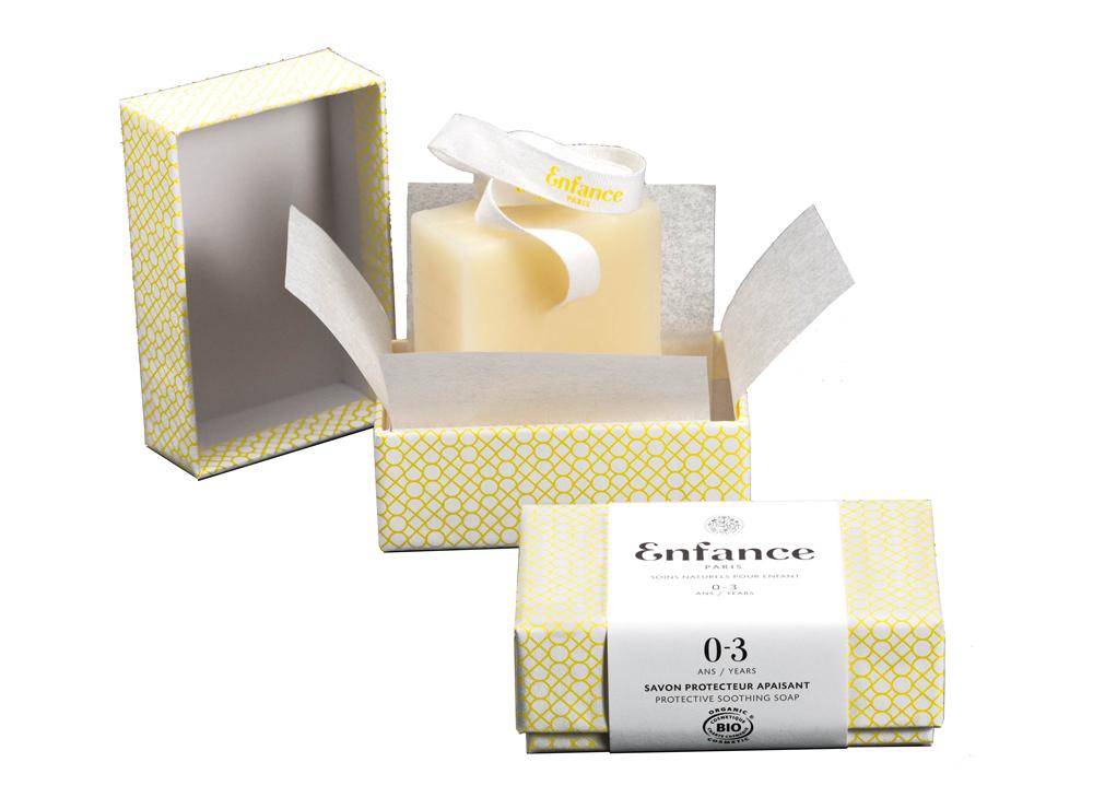 Doux Good - Enfance Paris - savon protecteur apaisant 0-3 ans - en coffret