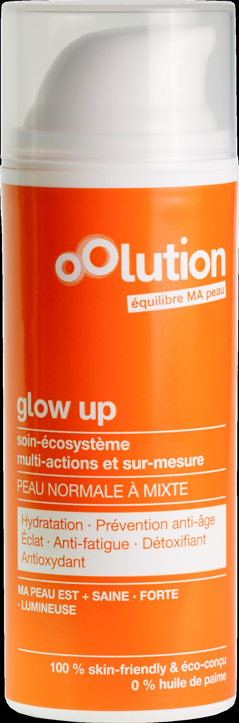 Doux Good - Oolution - Glow Up - soin visage hydratant pour peaux normales à mixtes