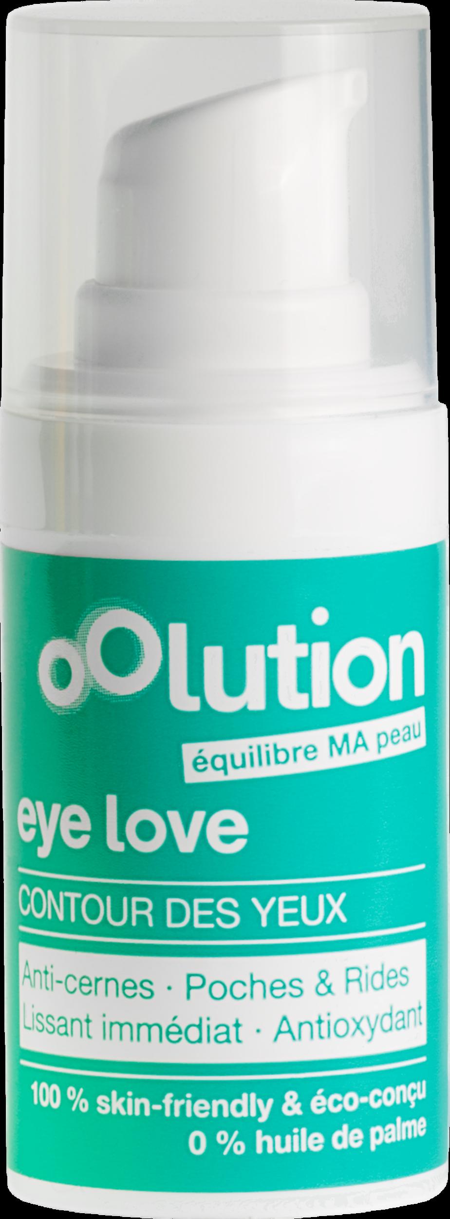 Doux Good - Oolution - Eye love - crème contour des yeux anti-rides et anti-cernes