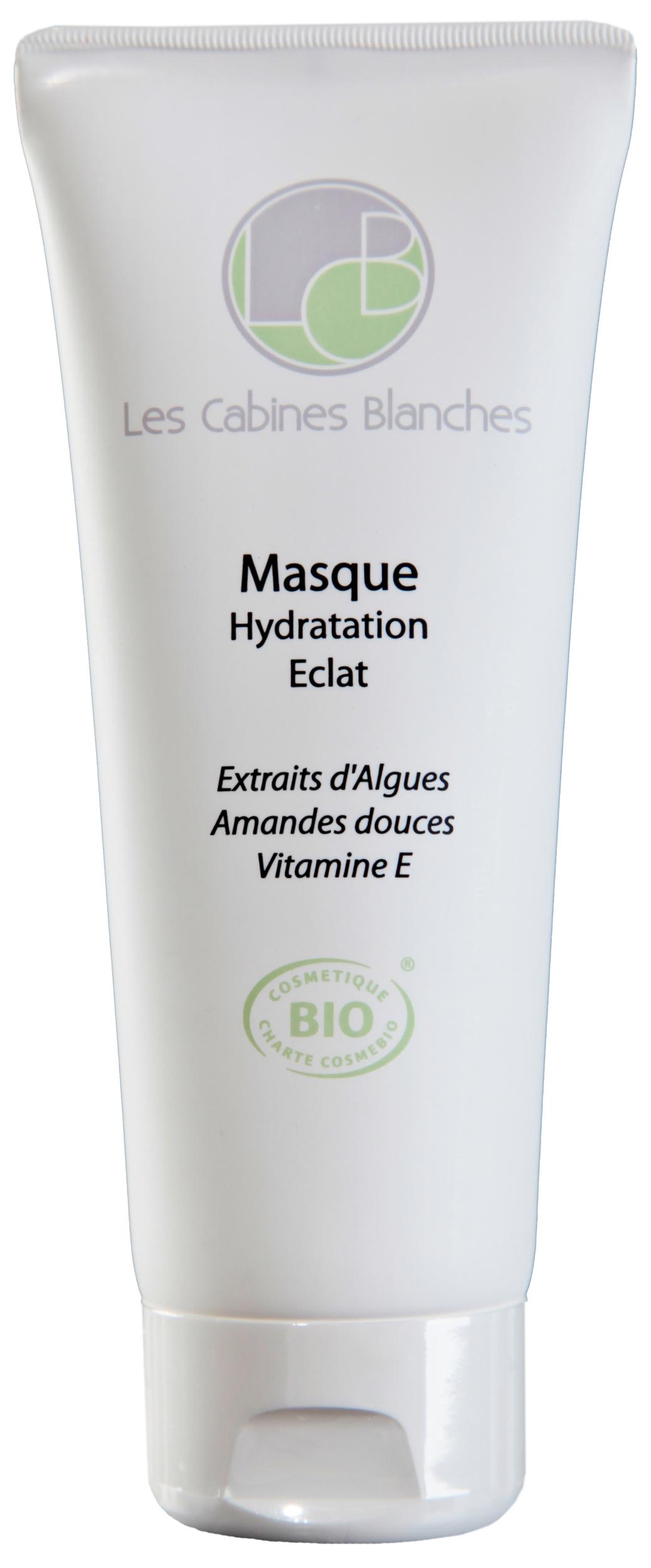 Doux Good - Les Cabines Blanches - Masque Hydratant bio - spécial eclat