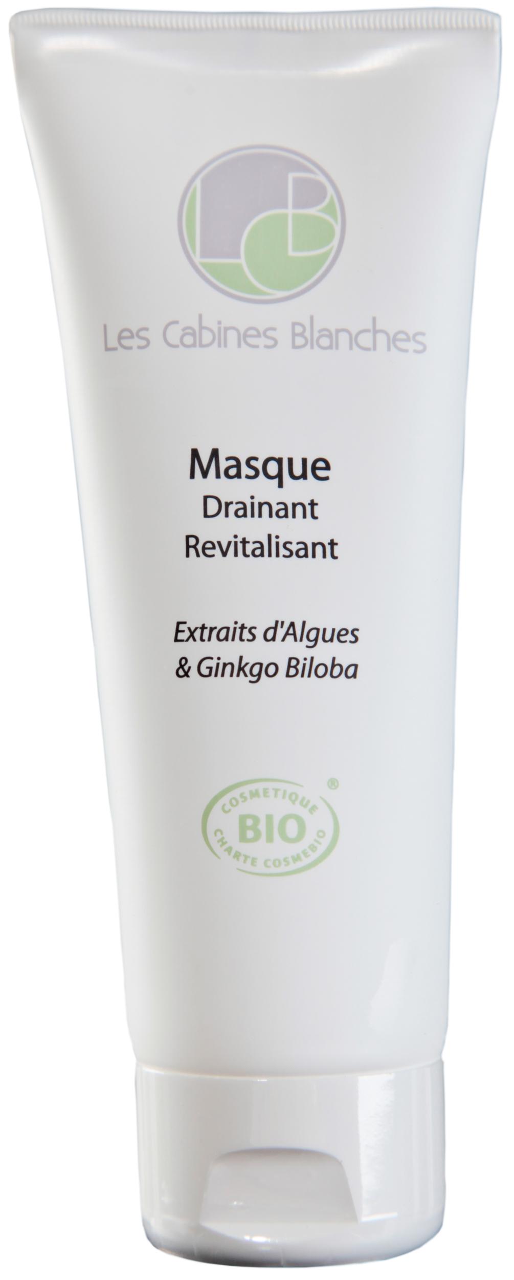 Doux Good - Les Cabines Blanches - Masque revitalisant bio