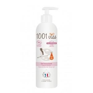 Doux-Good-1001vies-gel-moussant-gamme-tolerance-peaux-réactives-hypersensibles-400ml