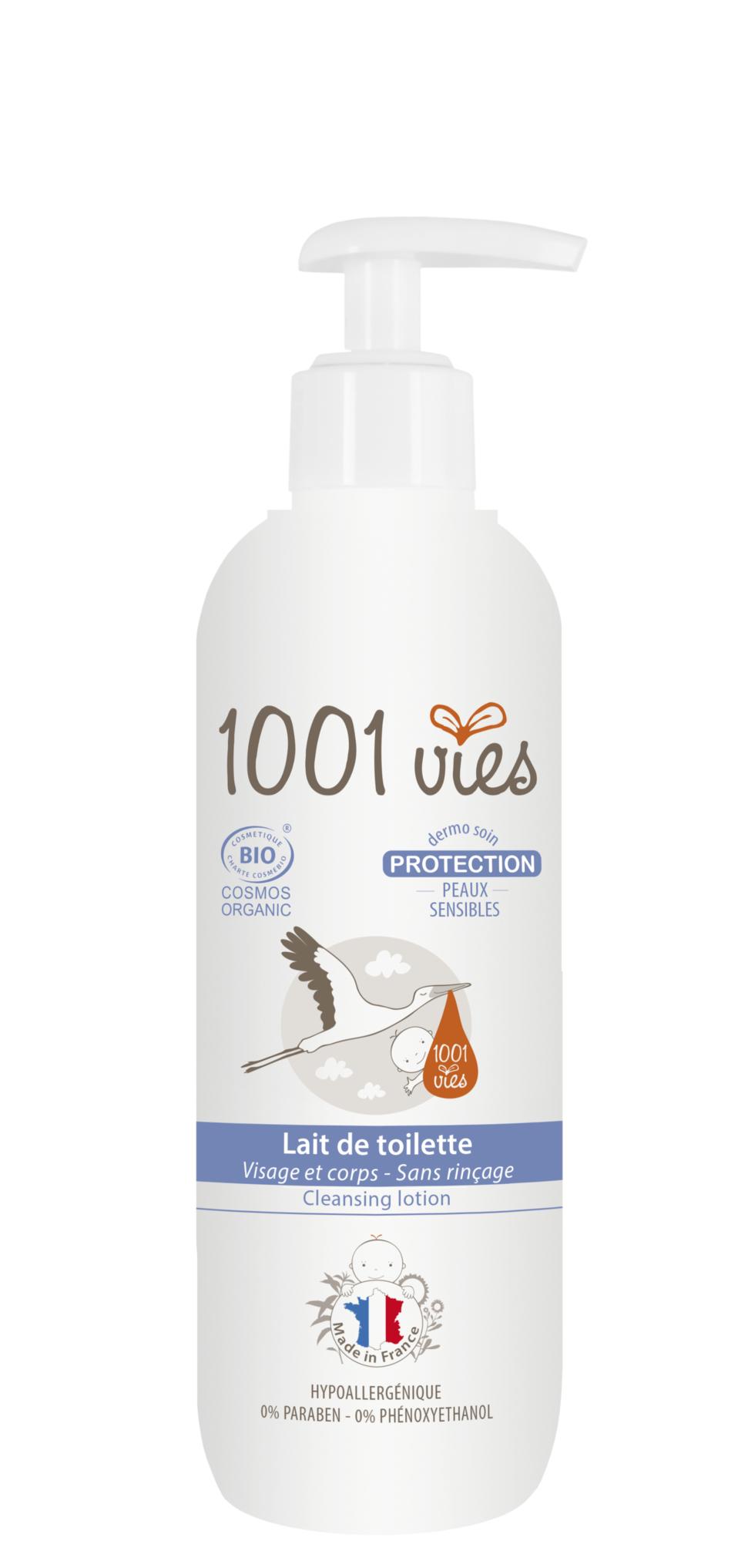 lait de toilette gamme protection peaux sensibles 1001 vies. Black Bedroom Furniture Sets. Home Design Ideas