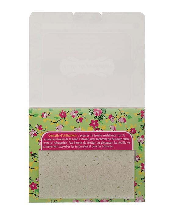 voile de perfection 50 feuilles de papier matifiant lady green. Black Bedroom Furniture Sets. Home Design Ideas