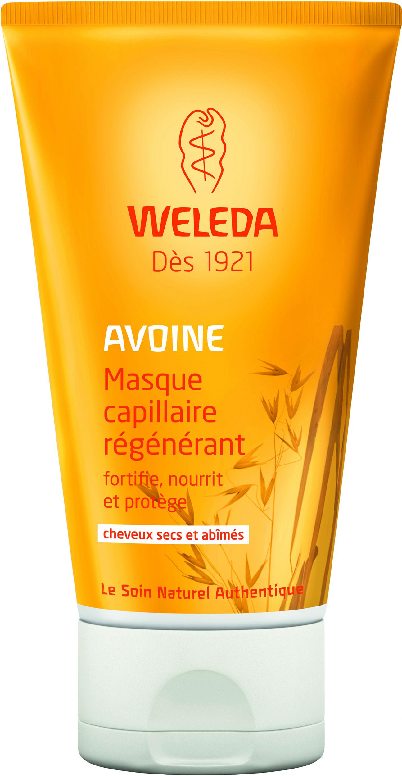 Doux Good - Weleda - masque capillaire avoine régénérant