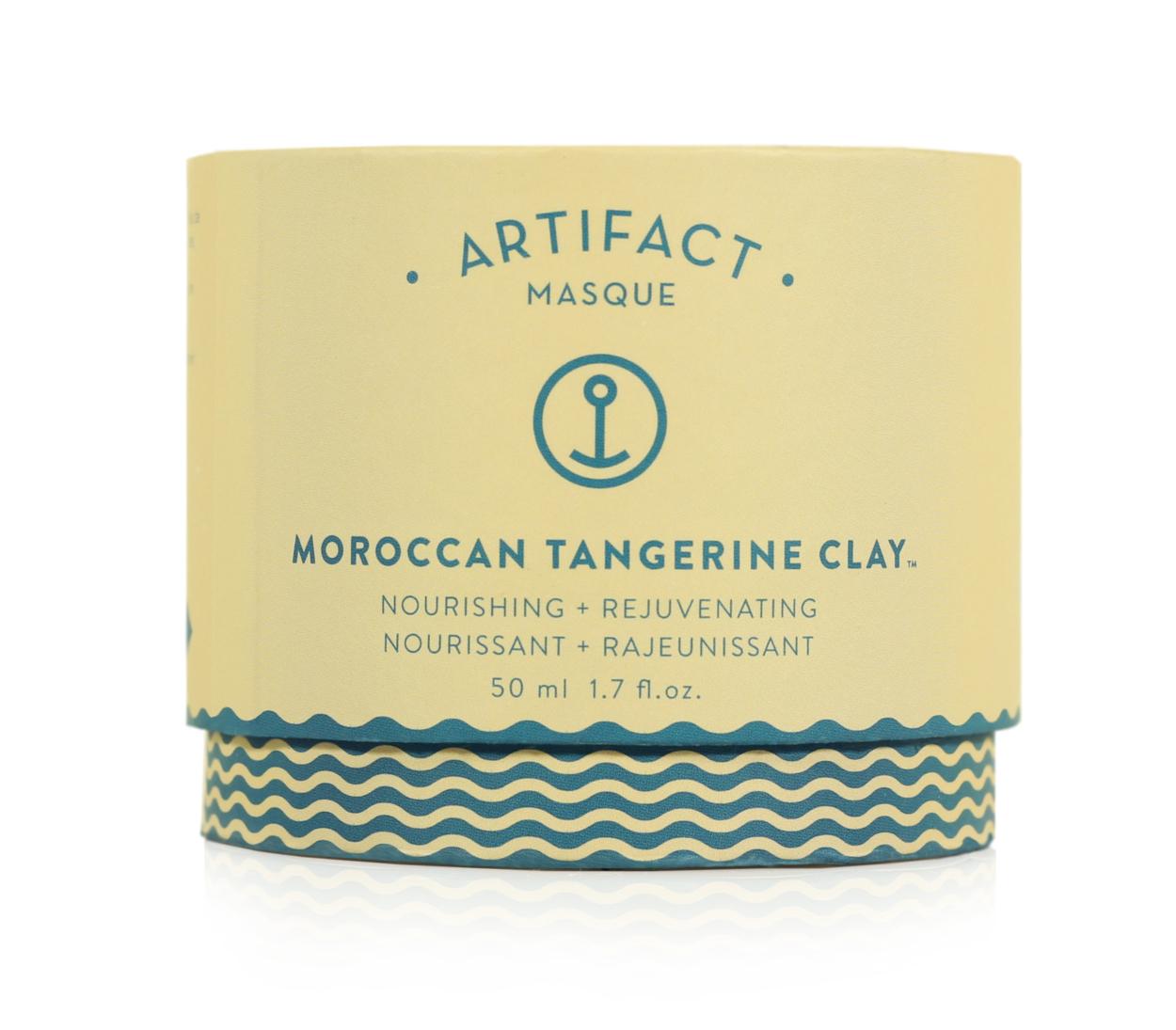 Doux Good - Artifact Skin Co - Masque visage à l'argile  - Moroccan Tangerine Clay
