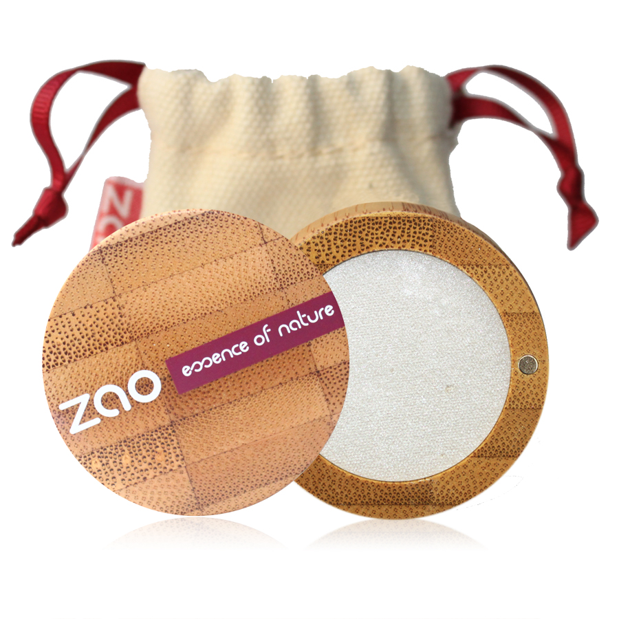Doux Good - Zao Make-up - fard à paupières nacré 101 blanc
