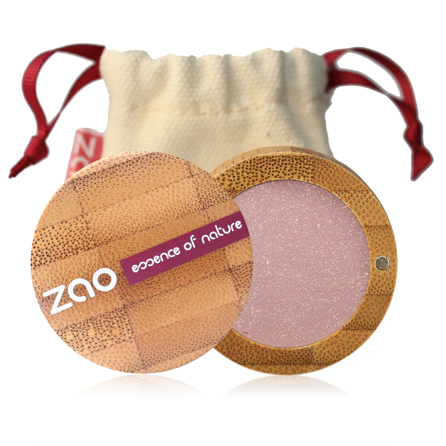 Doux Good - Zao Make-up - fard à paupières nacré beige rose 102