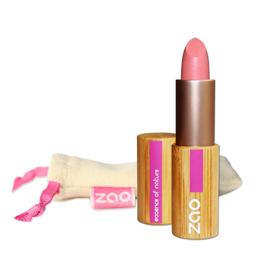 Doux Good - Zao make-up- rouge à lèvres nacré - rose 402