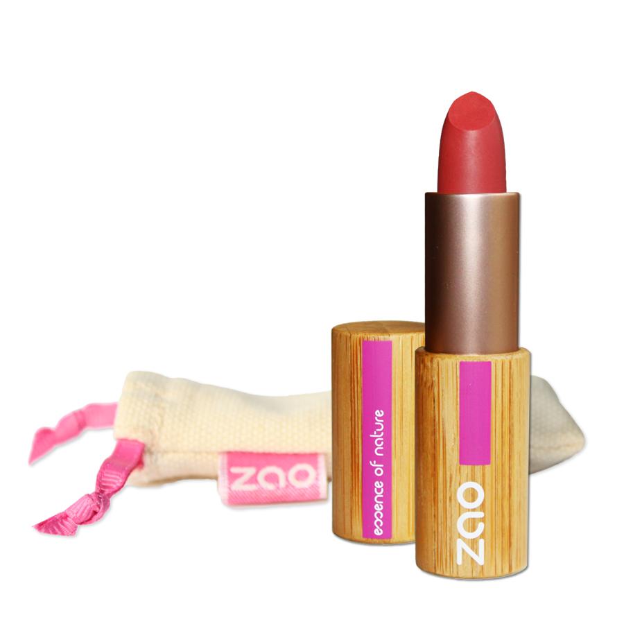 Doux Good - Zao Make-up - Rouge à lèvres mat - Rouge orangé 464
