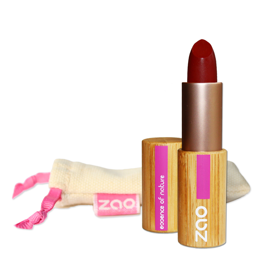 Doux Good - Zao Make-up - Rouge à lèvres mat - Rouge sombre 465