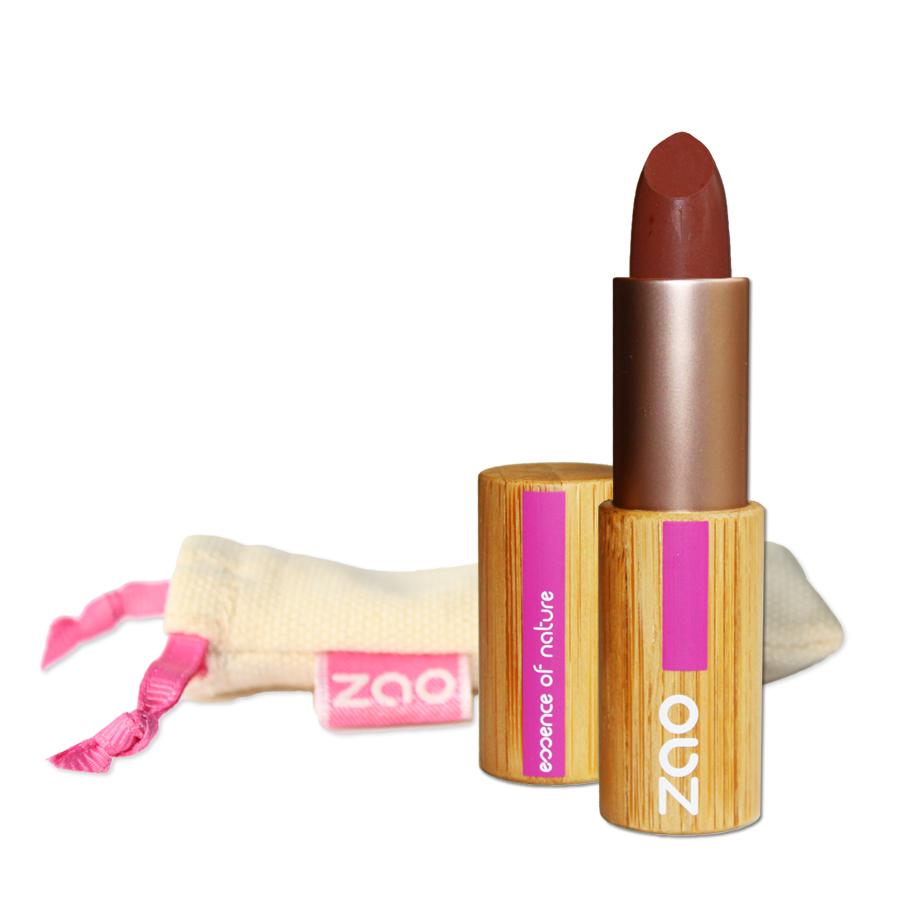 Doux Good - Zao Make-up - Rouge à lèvres mat - Chocolat 466