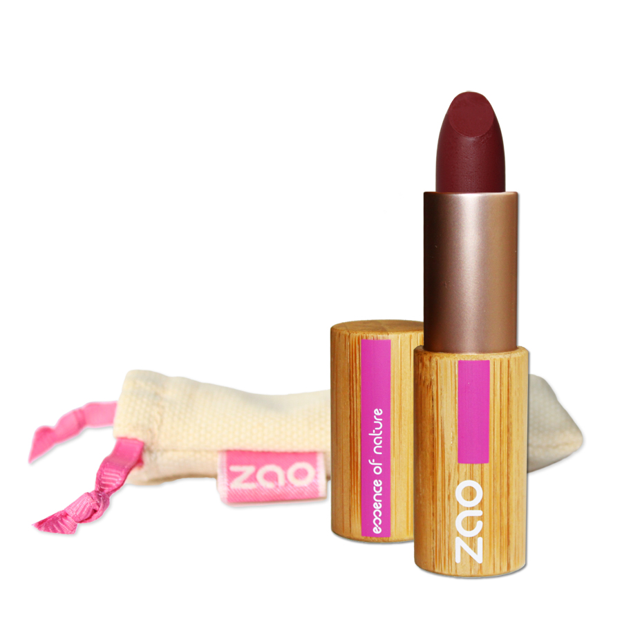 Doux Good - Zao Make-up - rouge à lèvres mat - prune 468