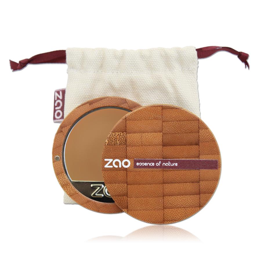Doux Good - Zao Make-up - Fond de teint compact - Capuccino 734