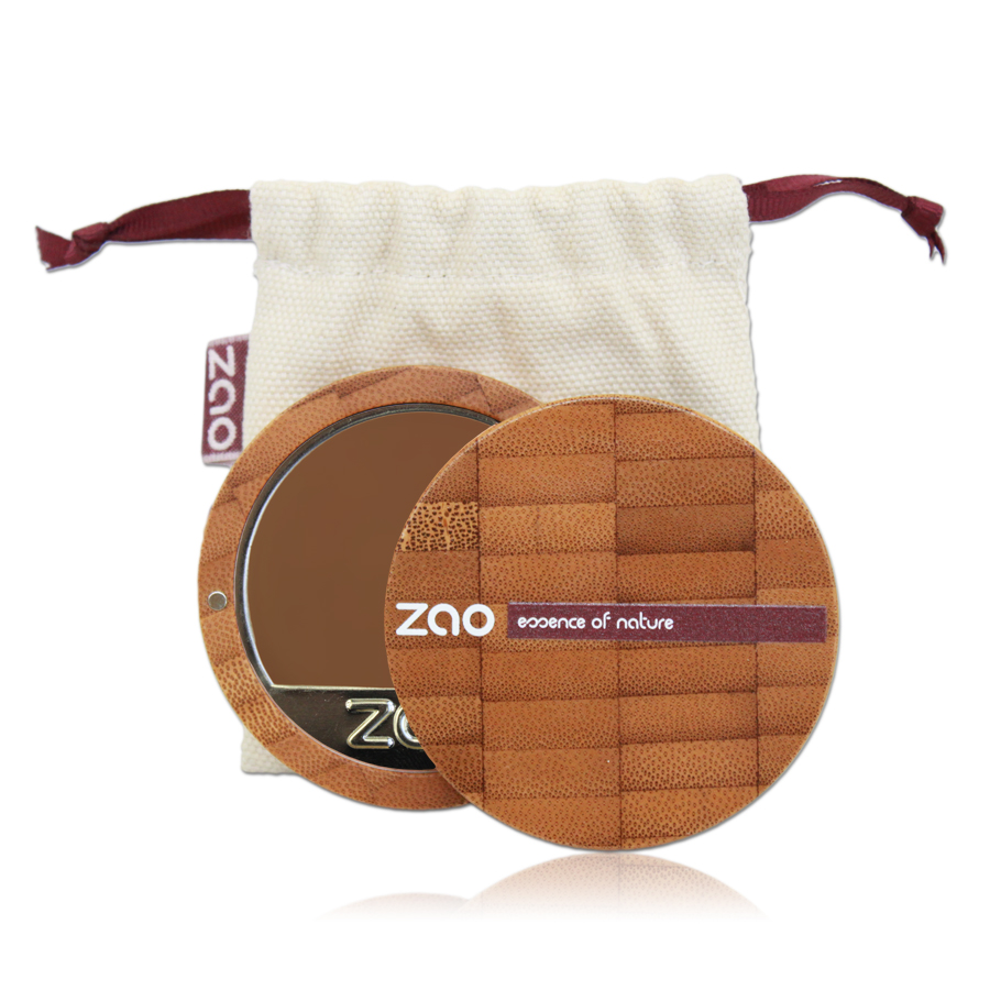 Doux Good - Zao Make-up - fond de teint compact - chocolat 735